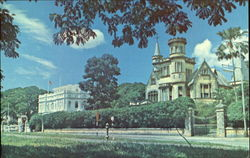 Victorian Architecture Abounds In Trinidad Postcard