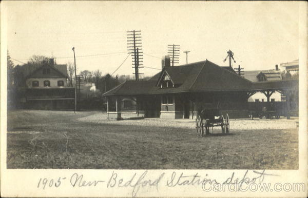 New Bedford Station Depot Massachusetts Depots