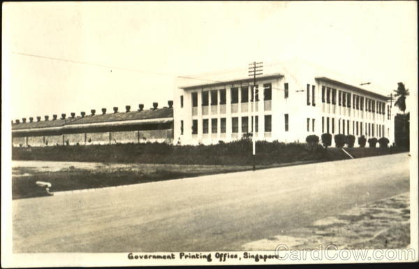 Government Printing Office Singapore Southeast Asia