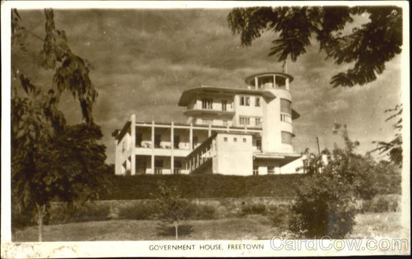 Government House. Freetown Bahamas Caribbean Islands