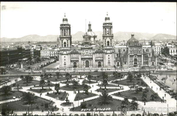 Large Cathedral in Mexico City