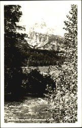 Grand Teton From Cottonwood Creek Postcard