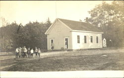 Children & Schoolhouse