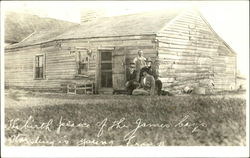 Jesse James Birthplace Of The James Boys Postcard