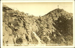 Summit And Tower Postcard