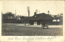 New Bedford Station Depot Postcard