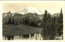 Mt. Rainier From Tipsu Lake