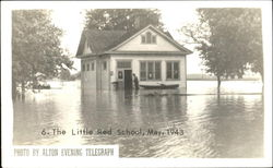 The Little Red School Flood