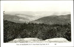 View Of Allegany, Rock City Park