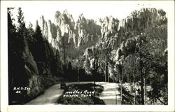 Needles Road, Hairpin Turn