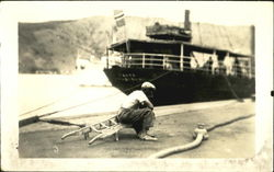 Man at Dock
