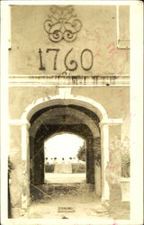 Historical Castle Tunnel Postcard