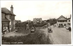 Pennard Village Postcard