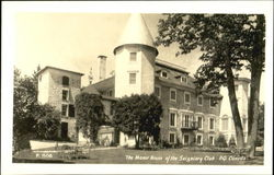 The Monor House Of The Seigniory Club P.Q. Canada
