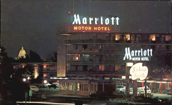 Marriott Motor Hotel  Twin Bridges U S  1  U0026 I