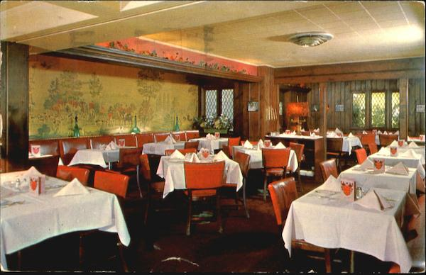 The Dover Room Of The English Grills, 913 Market St Wilmington Delaware