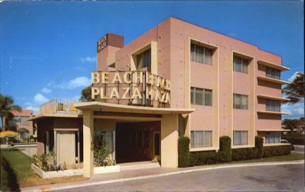 Beach Plaza Apartment Hotel, 625 N. Atlantic Blvd., Route A1A Fort Lauderdale Florida