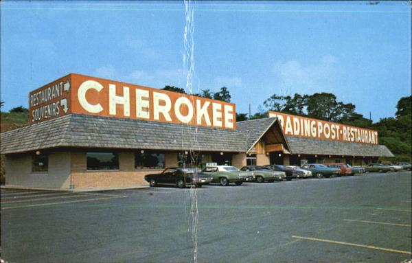 Cherokee Trading Post Restaurant Int 70 R D 1 Box 59a