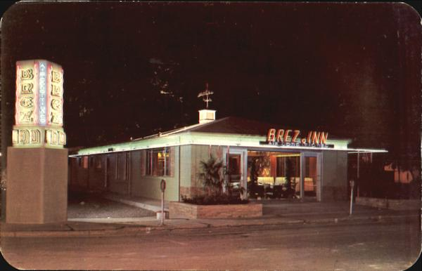 The Brez-Inn Restaurant, Downtown Leesburg Florida