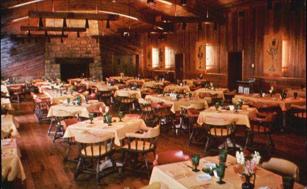 Wilson Lodge Dining Room, Oglebay Park Wheeling West Virginia