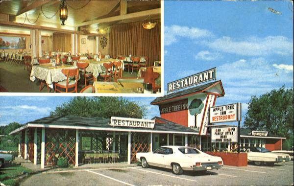 Apple Tree Inn Restaurant, Hwy. 441 Pigeon Forge Tennessee
