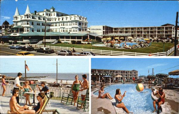 The Colonial Hotel And New Motor Lodge, P.O. Box 338 Cape May New Jersey