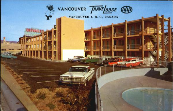 Vancouver Travelodge, 1304 Howe Street Canada British Columbia