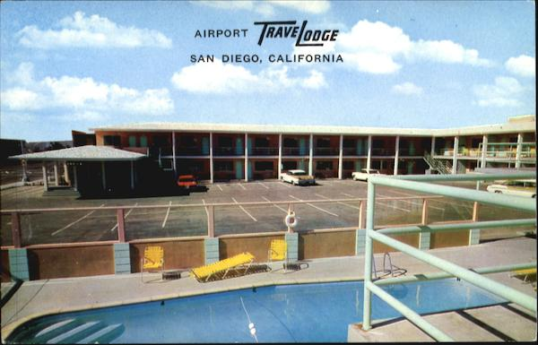 Airport Trave Lodge, 2353 Pacific Hwy San Diego California