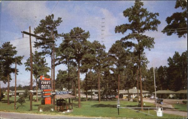 Cobb's Motel And Restaurant, U. S. 301 - North Rocky Mount North Carolina