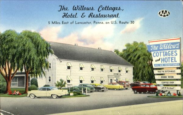 The Willows Cottages Hotel & Restaurant Lancaster Pennsylvania