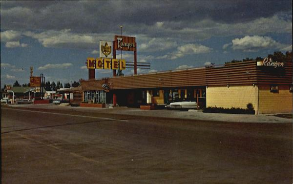 Ranger Motel, 469 No. Third U. S. Highway 30 Laramie Wyoming