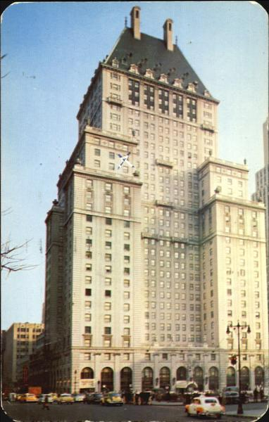 The Savoy Plaza, Fifth Avenue - 58th to 59th Street New York, NY