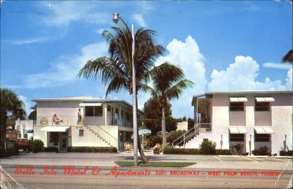 Belle Isle Motel & Apartment, 3201 Broadway West Palm Beach Florida