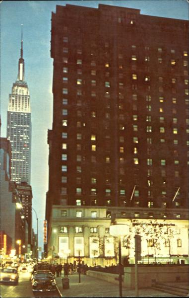 The Statler Hilton, Madison Square Garden New York City