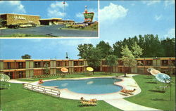 Holiday Inn, Interstate 29 (U. S. 77) at Isabella St. Exit 1401 West Gordon Drive Postcard