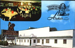 Archie's Lobster House, 5 Miles North on U.S. 11 & 220