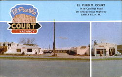 El Pueblo Court, 1416 Cerrillos Road on Albuquerque Highway