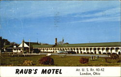 Raub's Motel, 20 Miles West of Columbus, U. S. Rt. 40-42 Cloverleaf