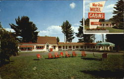 Mar-Jon Motel, Rte. U.S. 3 at Plymouth Interchange Interstate 93 Postcard