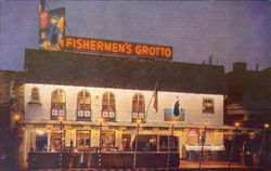 Fishermen's Grotto, No. 9 Fisherman's Wharf Postcard