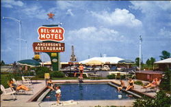 Bel-Mar Motel, U.S. Hiways 67 and 64