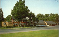 Avon Old Farms Inn, Route US 44, US 202 ad Conn. 10 Postcard