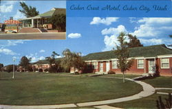 Cedar Crest Motel, U.S. 91-South End of Town