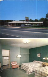 Airport Motor Hotel, 1 1/4 Miles South on U. S. Route No. 1