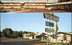 Continental Inn, Highway 59 North Postcard
