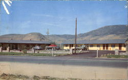 49'Er Motel, U. S. 395 North Postcard