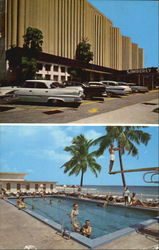 Kimberly Resort Motel, Collins Avenue At 158th Street Postcard