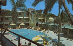 Bilmar Beach Motel, 10650 Gulf Blvd Postcard