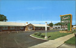 The Sands Motel, Rt. 250 South Postcard