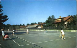 All-Weather Tennis Courts